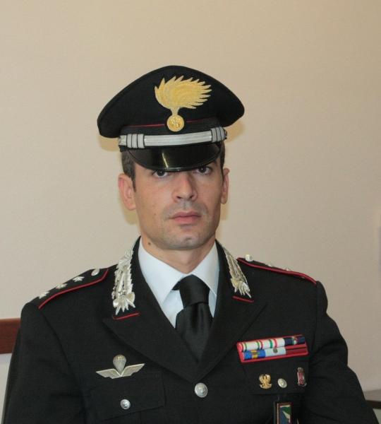 I carabinieri hanno un nuovo comandante. A capo della compagnia il capitano Rustico